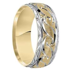Photo credit - Men'sweddingbands.com