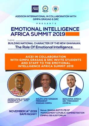 2nd Annual Emotional Intelligence Africa Summit Slated For November 14