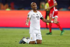 2021 AFCON Qualifiers:Black Stars Will Work Hard To Reignite The Love - Andre Ayew