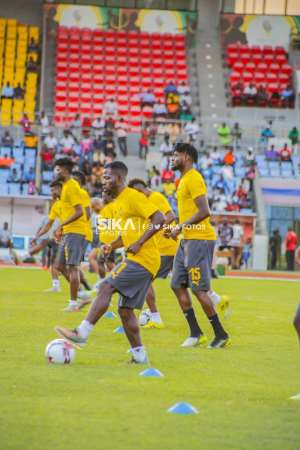 2021 AFCON Qualifiers: Black Stars Final Training Ahead Of South Africa Clash In Pictures