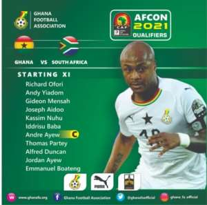 AFCON Qualifiers: Ghana Coach Kwesi Appiah Names Strong Team To Face South Africa