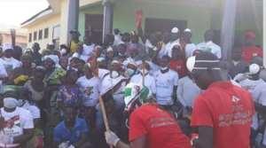 NDC members partake in nationwide weeding exercise