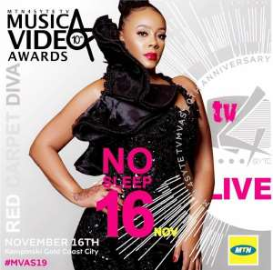 MTN 4Syte Music Video Awards: Actress Hailliote To Present Award Tonight