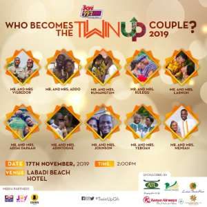 Meet the 10 couples vying to win Joy FM's maiden 'Twin Up' contest