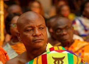 Togbe Afede XIV is the President of the National House of Chiefs