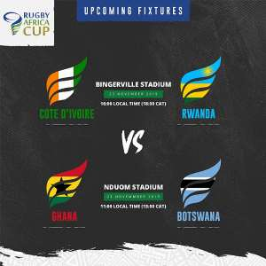 Ghana Eagles Meet Botswana Vultures In Historic Rugby Africa Cup