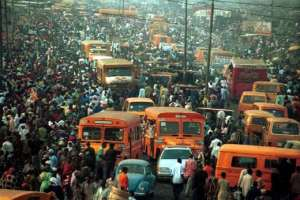 Is it possible that Accra can become like the congested- populated Lagos state in a few years? Photo credit: Nigeria media