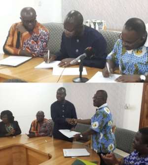 Accra: Chamber Of Mines And Standards Authority Sign MoU