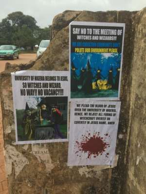 Will UNN Cancel 'Witchcraft' Conference?