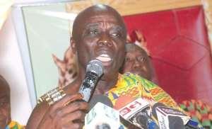 Okyenhene Wants 'One Region, One Ministry'