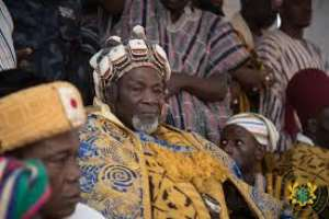 The leader of the Dagbon state, Ya-na Abubakari Mahama (II)