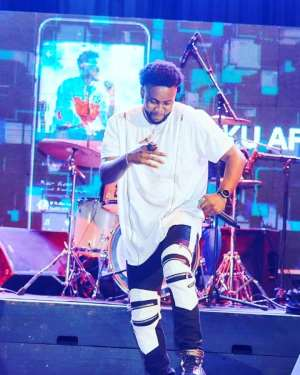 Kweku Afro Thrill Fans At Maiden Edition Of Aftown Music Concert