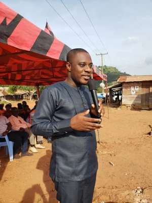 Kwahu East DCE, Hon. Isaac Agyapong