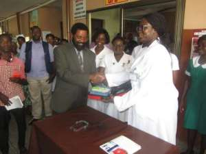 Mamprobi Poly Clinic Receives Support From MP