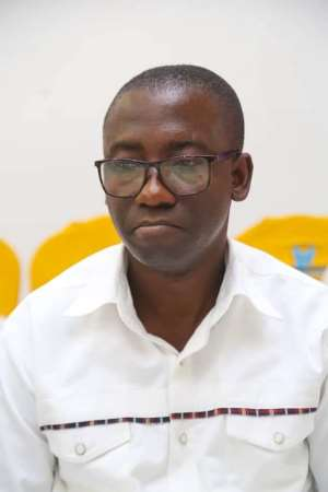 District Chief Executive (DCE), Mr. William Asante Bediako