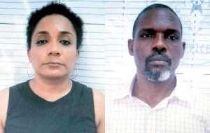 Georgette Kusi-Boateng and Sam George Acquah