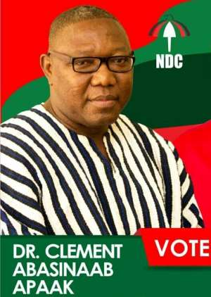 """Roads In The Builsa South District Aren't """"Fair""""; They Are """"Poor"""" – Dr. Clement Apaak."""