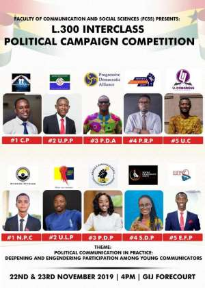 U-Congress, Social Democratic Party win maiden GIJ inter-class political campaign competition