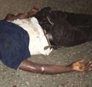 lifeless body of the Abokomanhene of Awutu Awin-taso in the Awutu Senya West District