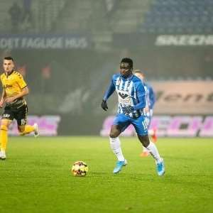 Dauda Mohammed Scores Winning Goal For Esbjerg FB Against Silkeborg IF