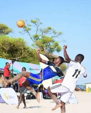 Beach Soccer: La Yoca, Accra Sea Lions Heads To Cape Coast For Cal Bank Super League
