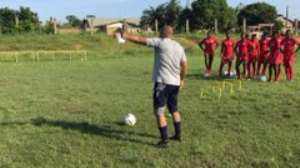 [Pictures] Hearts Of Oak Continues Training This Week Ahead Of Start Of GPL
