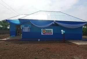 Dwamena Akenten SHS: Old Students Give 20-Seater Toilet Facility To Alma Mater