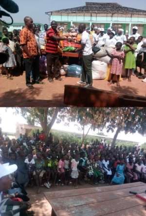 Gbeogo School For The Deaf Receives Support