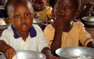 File photo: The Ghana School Feeding Programme (GSFP) seeks to enhance food security and reduce hunger