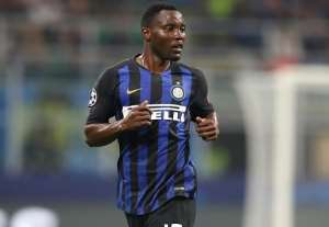 Kwadwo Asamoah To Make Inter Milan In Champions League Encounter With Slavia Prague