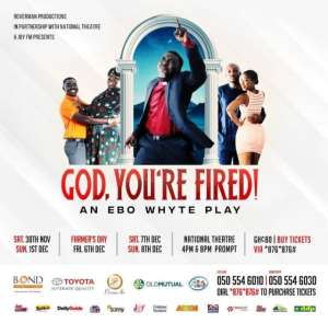 'God You're Fired' - Roverman productions ready to thrill patrons with new play