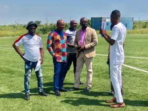 New GFA Pays Working Visit To Ghana Soccer Centre of Excellence at Prampram