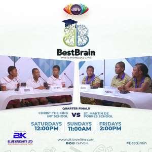 Best Brain: Christ the King, St. Martin de Porres to face off in last quarter-finals