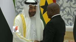 Ghana Legend Abedi Pele Meets Saudi Prince [VIDEO]
