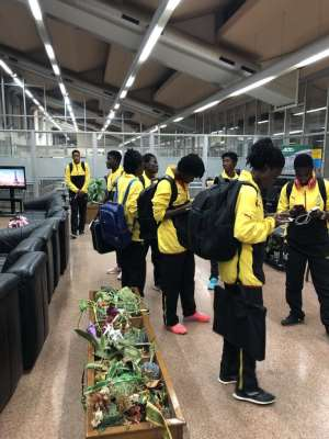 Black Princesses Land In Cameroon Ahead Of U-20 Women's World Cup Qualifier