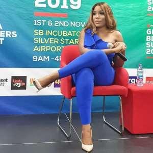 Nigerian Blogger Linda Ikeji Names Shatta Wale As Her Favourite Artist