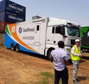 GHPL: StarTimes OB Van To Access All The League Centres