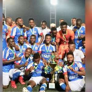 Razak Abalora Saves Two Penalties To Guide Azam FC To Lift Mapinduzi Cup