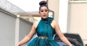 Actress, Adunni Ade Looking Glamorous as a Wedding Guest