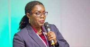 Ursula Owusu-Ekuful is the Communications Minister