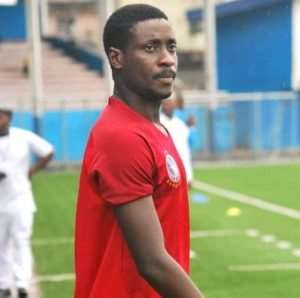 Daniel Darkwah Delighted With His First Goal For Enyimba FC
