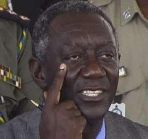 Kufuor Is A Disaster