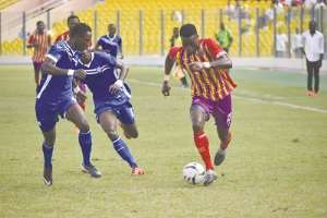 Hearts Attacker Kwadwo Obeng Jnr Declared Fit To Play Against WAFA Today