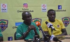 JUST IN: Head Coach For Ebusua Dwarfs Robert Essibu Resigns
