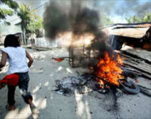 East Timor coup claim