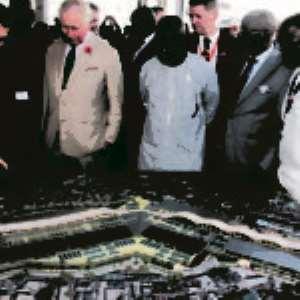 Prince Charles Visits Kumasi Kejetia