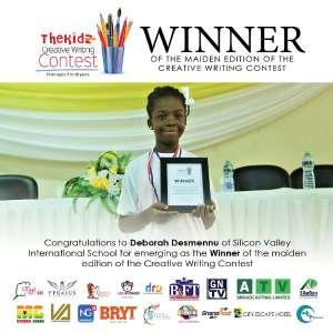 10-Year-Old Deborah Desmennu Wins Maiden Edition Of Creative Writing Contest