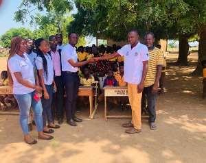 NASPA Executive Donates School Desks To Mamprugu Moagduri District