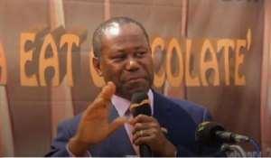Chief Executive of Ghana Cocoa Board Joseph Boahen Aidoo