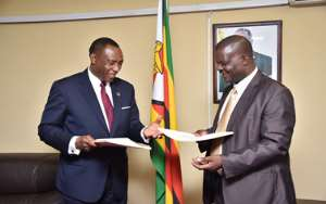 ECA And Zimbabwe Sign Agreement Ahead Of Forthcoming Sustainable Development Forum